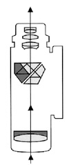 roof призма в монокуляре схематически