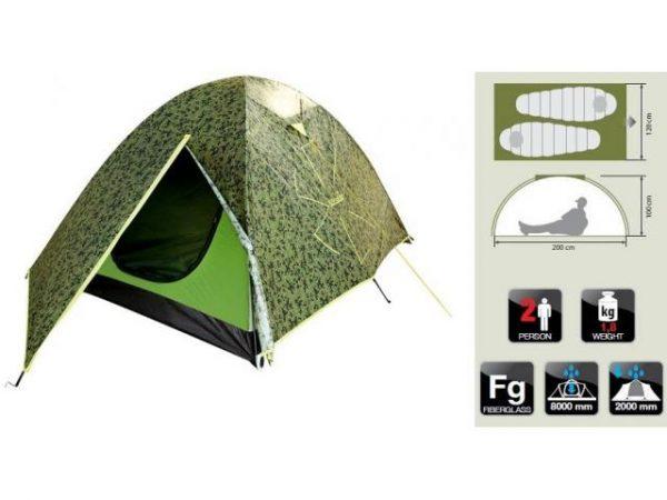 Палатка туристическая Norfin Ruffe 2