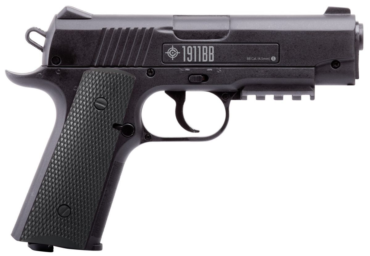 Пистолет пневматический Crosman 1911BB кал.4,5