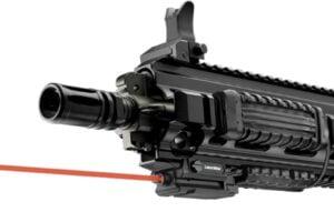 Лазерный целеуказатель LaserMax UNI-MAX карабин/ружье на Weaver/Picatinny (красный)