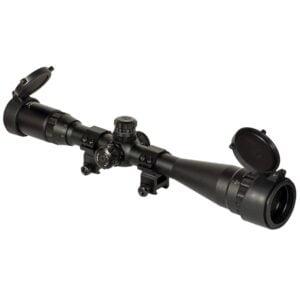 Прицел оптический Barska Blackhawk 4-16×40 AO (IR Mil-Dot R/G)