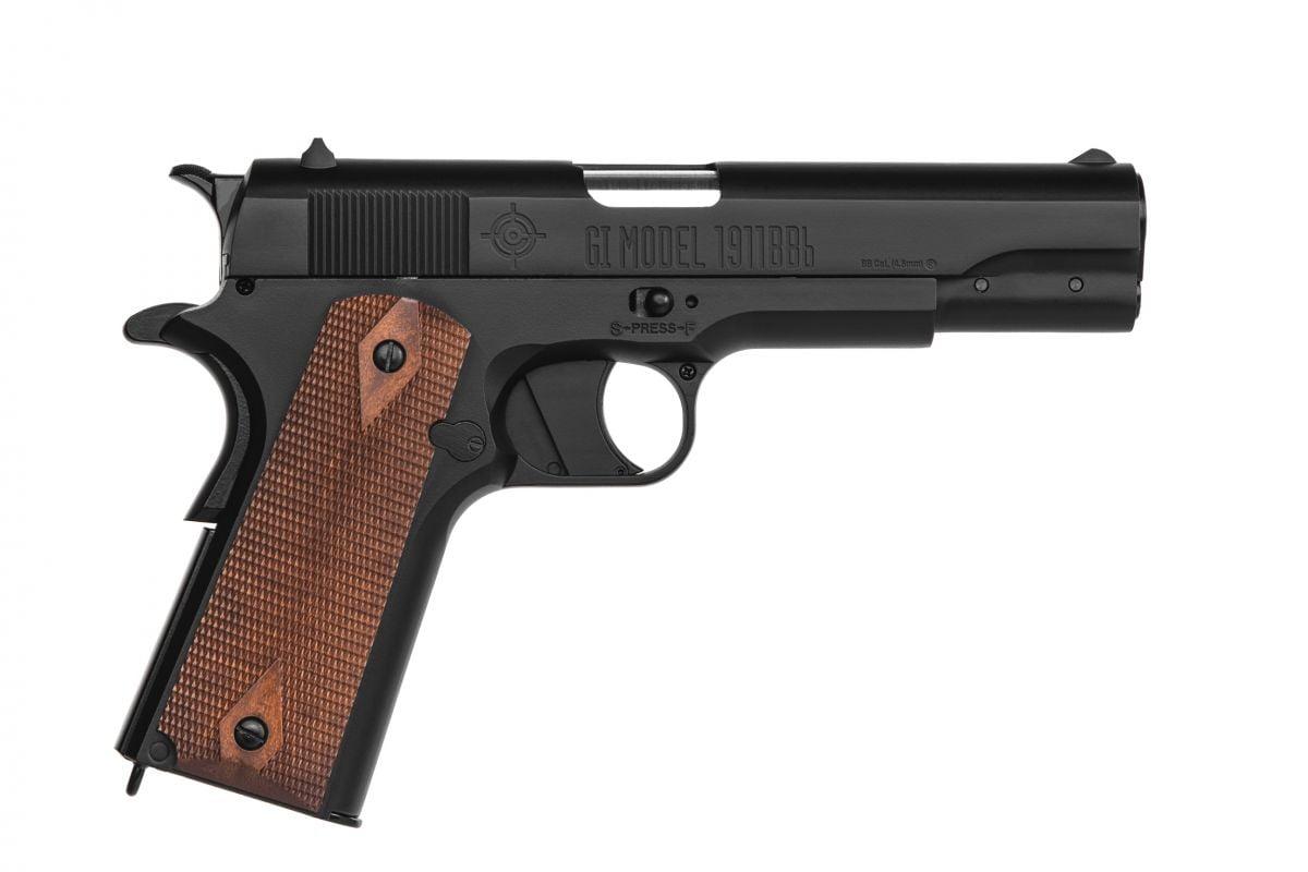 Пистолет пневматический Crosman мод.1911BB Blowback