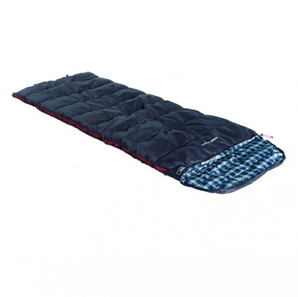 Спальный мешок High Peak Scout Comfort +5°C (Left) Dark blue
