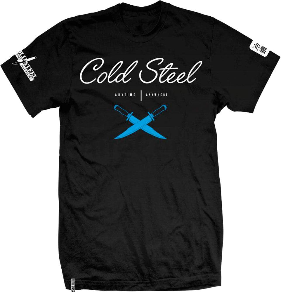 Футболка Cold Steel Cross Guard T-Shirt. Цвет – черный