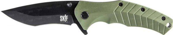 Складной Нож SKIF Griffin GRA/Black ц:green
