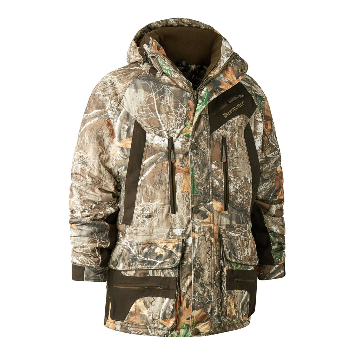 Куртка Deerhunter Muflon Long Camo Edge (лес)