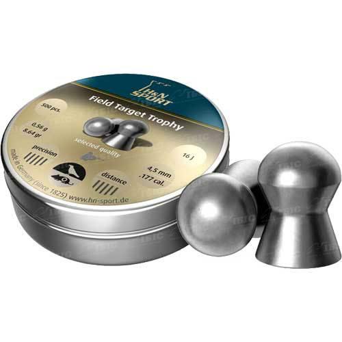 Пули пневм H&N Diabolo Field & Target Trophy 4,5 мм 500 шт. 0,56 гр.