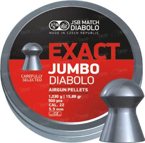 Пули JSB Diabolo Jumbo Exact 5,52 мм 250 шт. 1,030 гр.