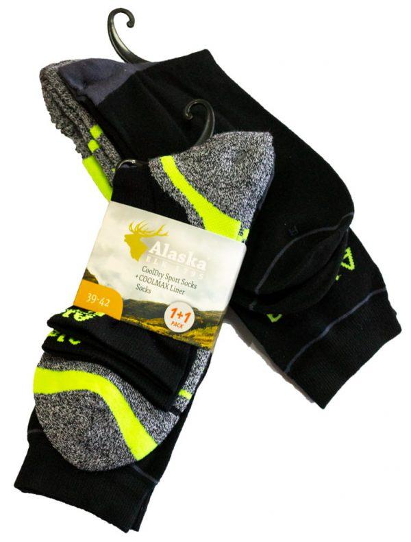 Носки Alaska Coolmax+Cooldry комплект