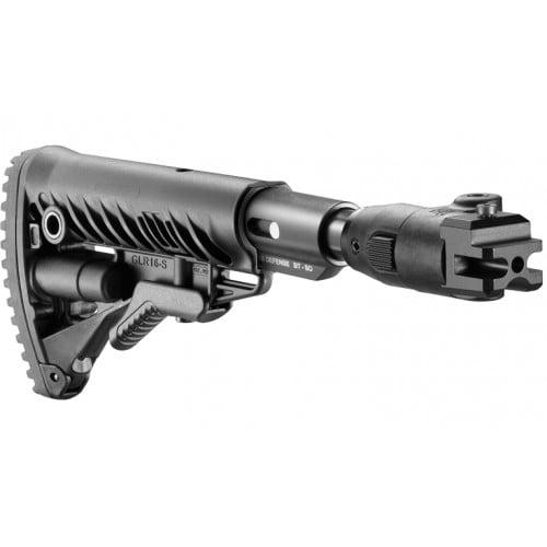 Складной приклад Fab Defense M4-AKP-SB для АКМ с амортизатором АК-47