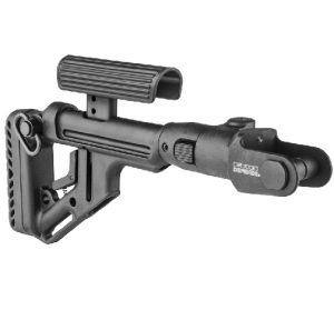 Складной приклад Fab Defense UAS-AKMS с регулируемой щекой для АКМС