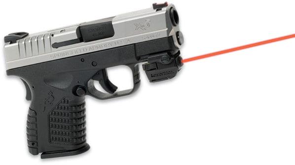 Лазерный целеуказатель LaserMax Micro II на планку (красный)