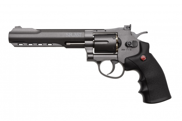Револьвер  пневматический Crosman 3576W Black кал.4,5