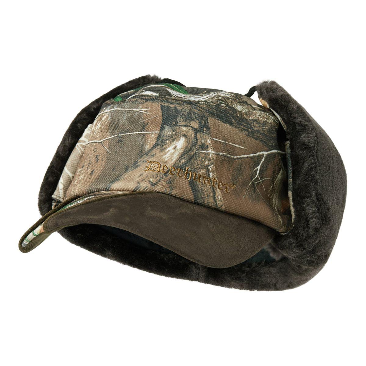 Кепка с ушами Deerhunter Muflon Winter Hat Edge
