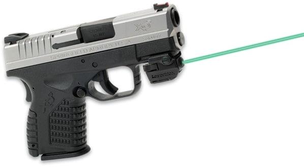 Лазерный целеуказатель LaserMax Micro II на планку (зелёный)
