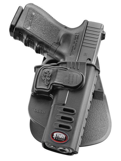 Кобура Fobus для Glock-17-19 с поясным фиксатором