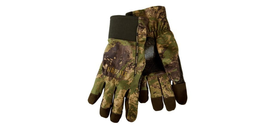 Перчатки Harkila Lynx fleece Axis MSP&Forest Green