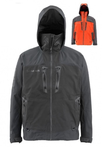 Куртка Simms Pro Dry Gore-Tex Jacket Steel Grey