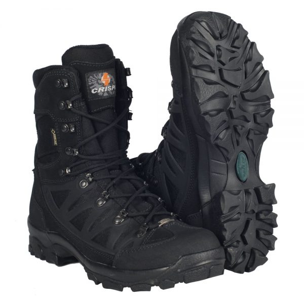 Ботинки CRISPI APACHE PLUS GTX BLACK