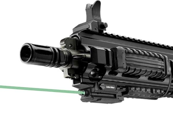 Лазерный целеуказатель LaserMax UNI-MAX карабин/ружье на Weaver/Picatinny (зелёный)