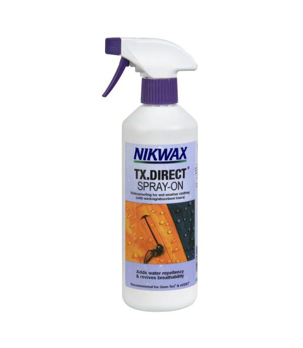 Пропитка для мембран Nikwax TX. Direct Spray-on 300ml