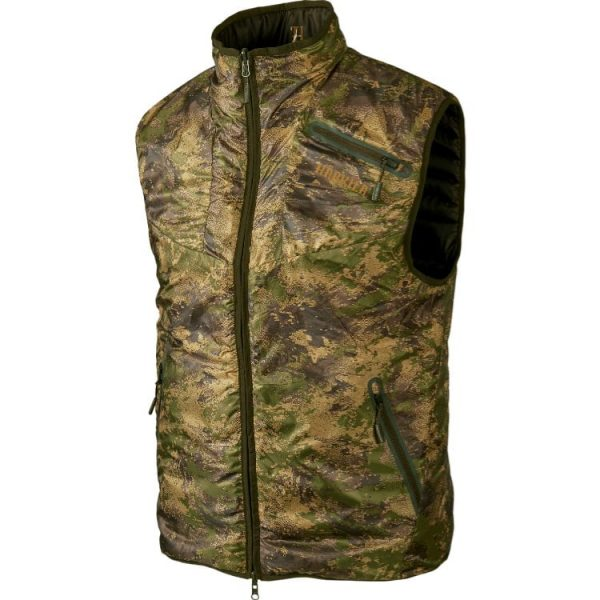 Жилет Harkila Lynx Insulated Revarsible Willow green/Axis MSP&Forest Green