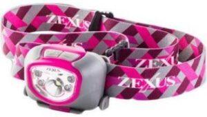 Фонарь налобный Zexus ZX-260 FP 180 lm ipx 4