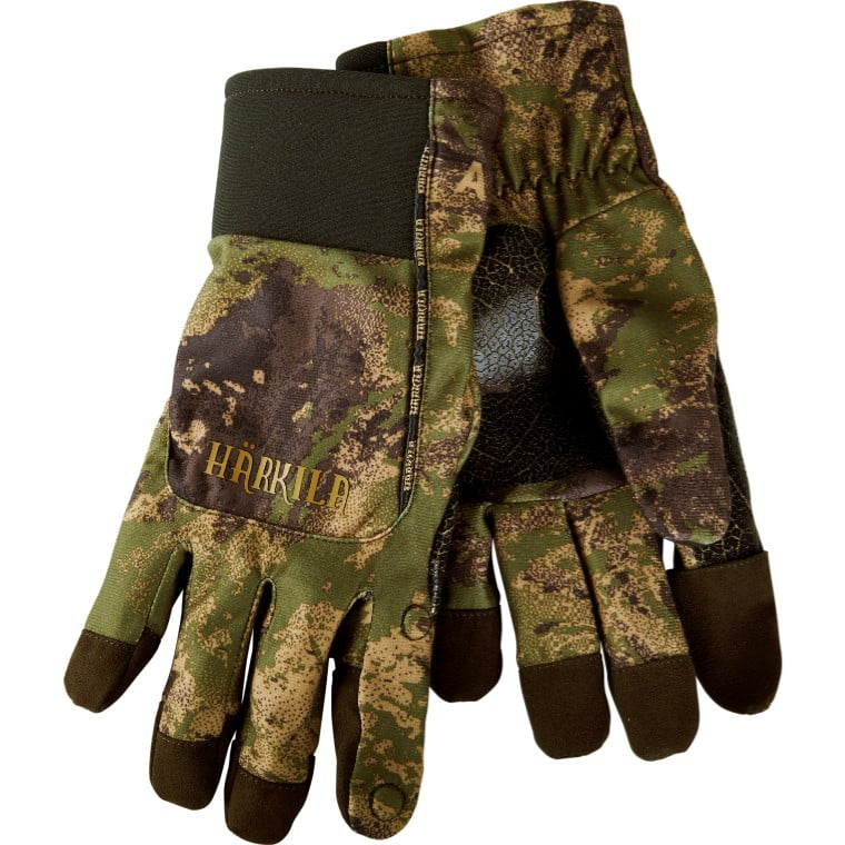 Перчатки Harkila Lynx HWS Axis MSP&Forest Green