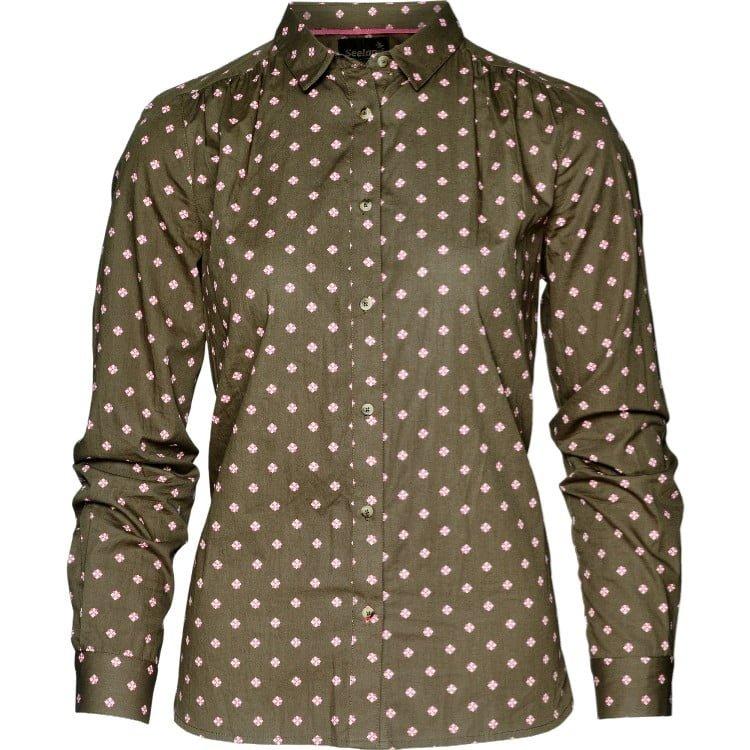 Рубашка женская Seeland Erin Lady коричневая