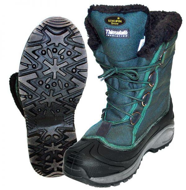 Ботинки зимние Norfin Snow (-20°) зеленый
