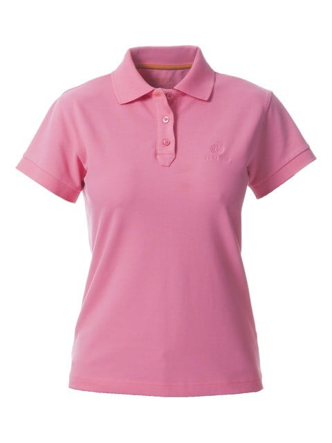 Футболка-поло женская  Beretta  (розовый)
