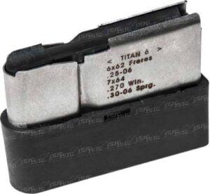 Магазин для карабина Roessler TITAN 6 кал. .25-06Rem./7×64/.270Win./.30-06 Емкость – 5 патронов