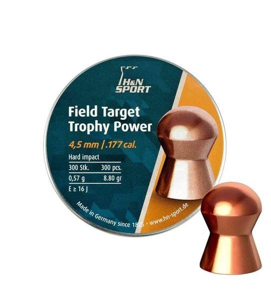 Пули пневматические H&N Field Target Trophy Power