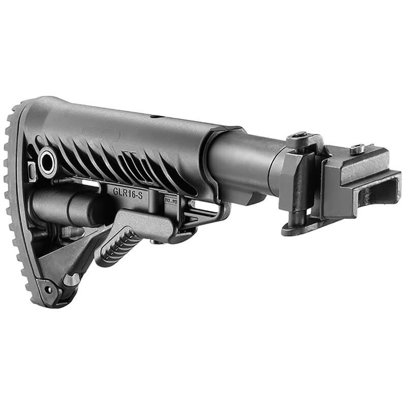 Складной приклад Fab Defense M4-AKP для АК47/74 штампованный приемник