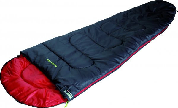 Спальный мешок High Peak Action 250. +4°C (Right) Black,red