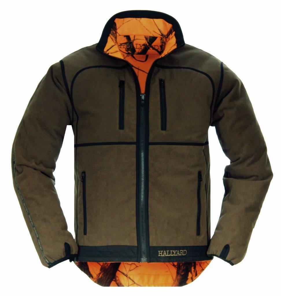 Куртка Hallyard Ravels Brown двухсторонняя