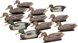 Набор подсадных уток Birdland: 3 селезня; 9 уток