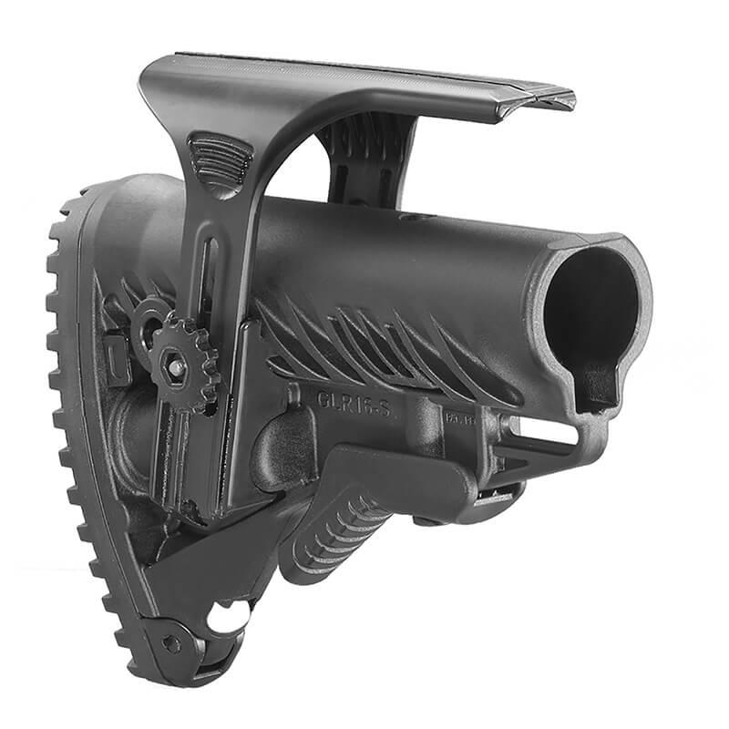 Приклад FAB Defense GLR-16 CP с регулируемой щекой для AR15/M16