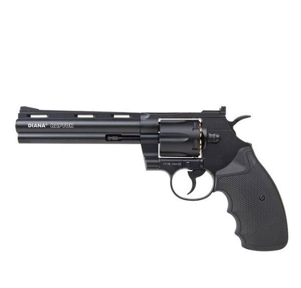 Револьвер пневматический Diana Raptor. Длина ствола – 6 дюймов