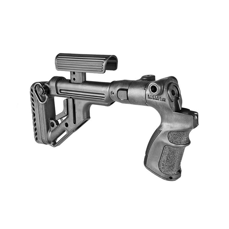 Приклад Fab Defense UAS-500 M4 складной с регулируемой щекой для Mossberg 500/590 Maverick 88