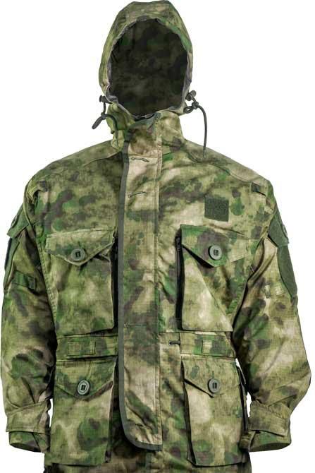 Куртка Skif Tac Smoke Parka w/o liner A-Tacs Green