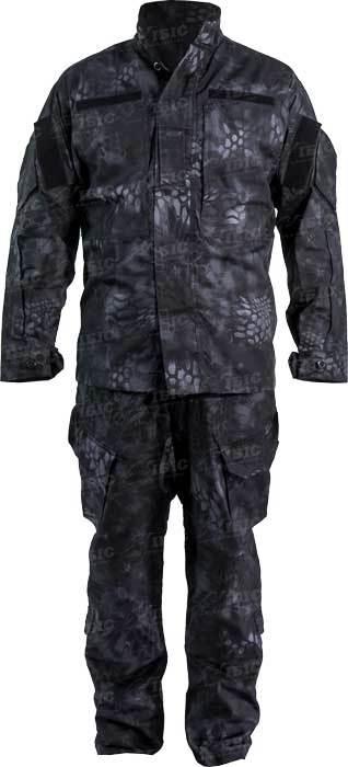 Костюм Skif Tac Tactical Patrol Uniform Kryptek Black