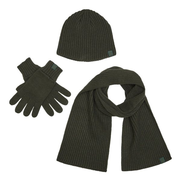 Шапка , шарф, перчатки Deerhunter Winter Set