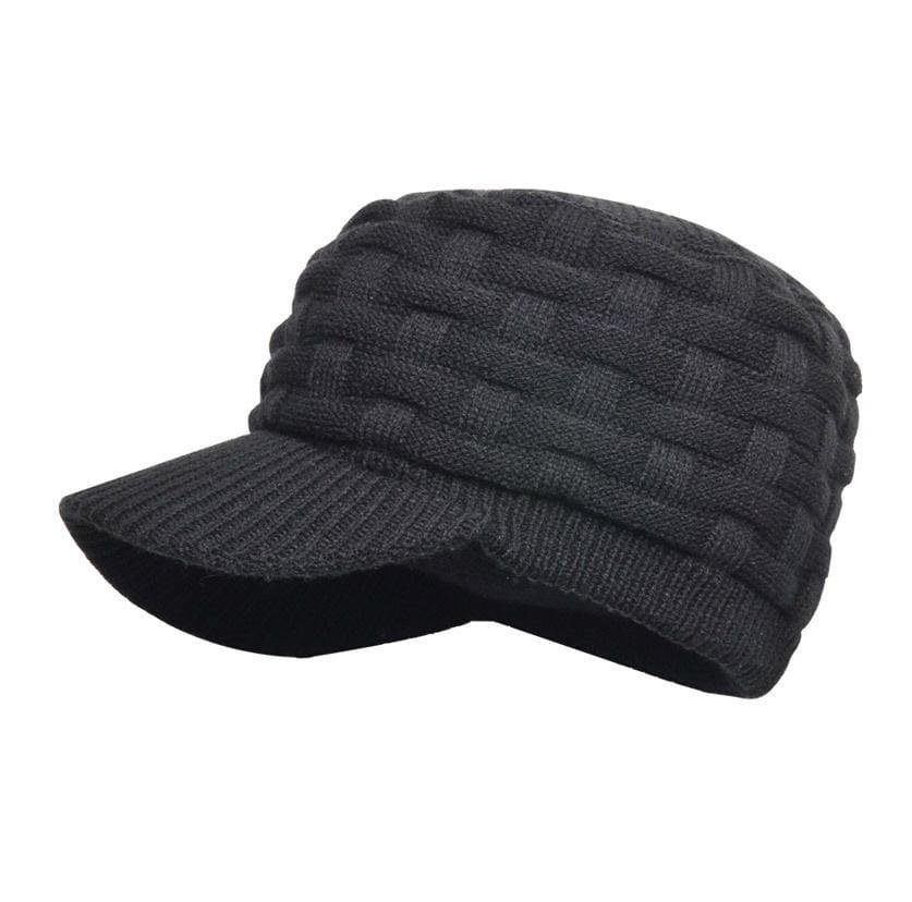 Водонепроницаемая шапка DexShell Beanie Peaked черная