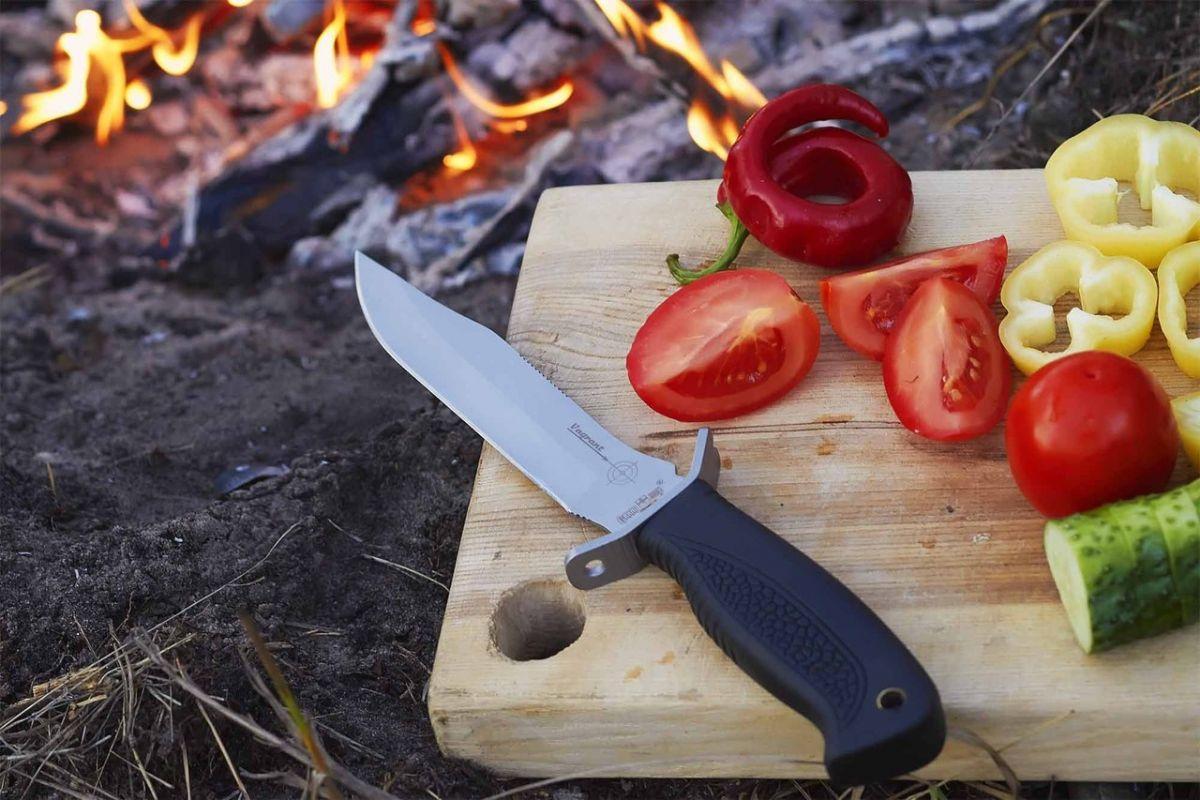 Ка затачивать ножи охотника