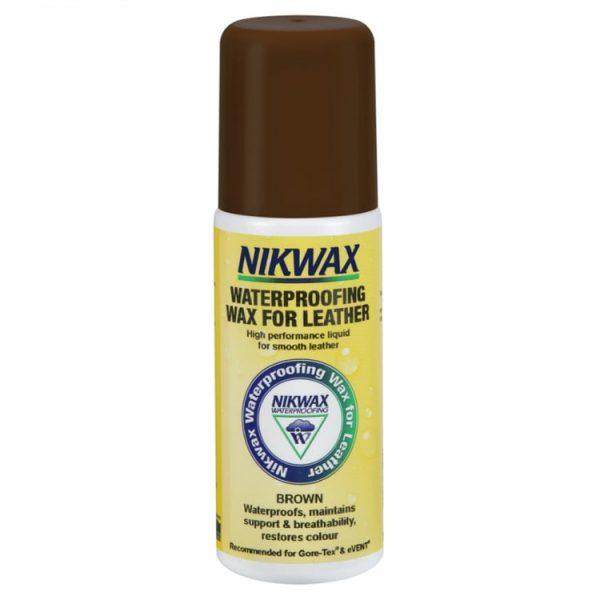 Пропитка для изделий из кожи Nikwax Waterproofing Wax for Leather Brown 125ml