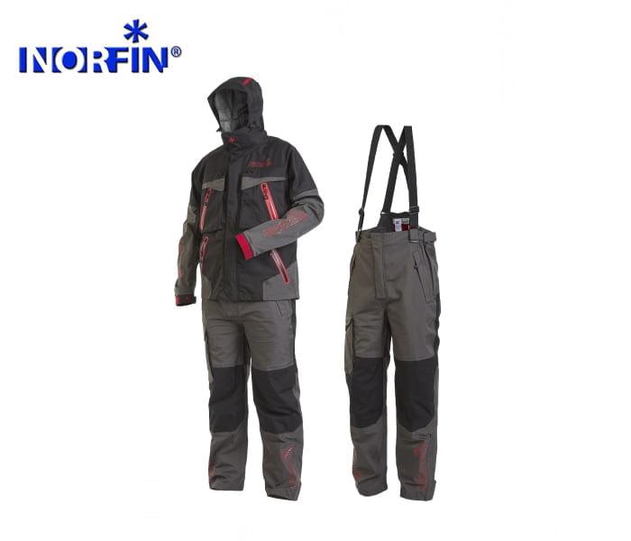 Костюм демисезонный Norfin Pro Dry Gray 2