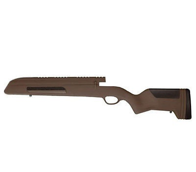 Ложа ATI для Mauser 98 Цвет – Woodland Brown (коричневый)