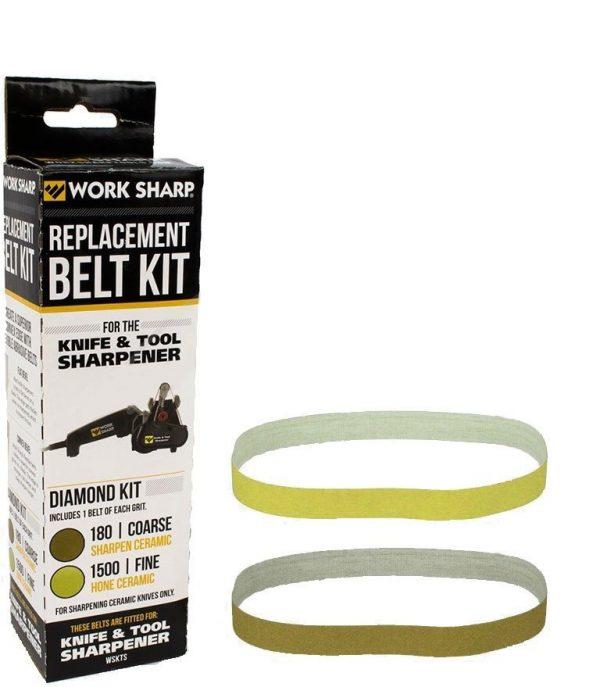 Комплект запасных ремней Darex WSKTS Diamond для керам.ножей