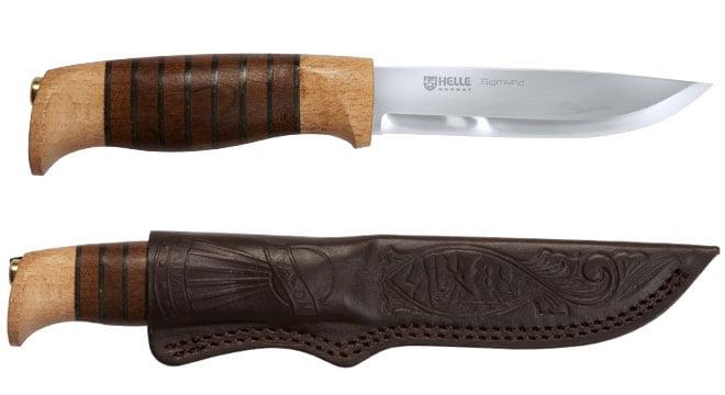 Нож Helle Sigmund
